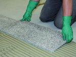 FKM XL Układanie niewrażliwych na przebarwienia płyt z kamienia naturalnego na zaprawie średniowarst