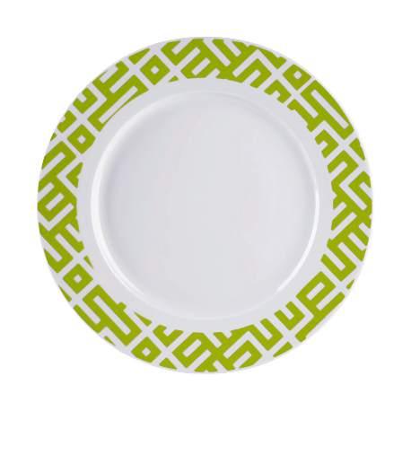 Cermiczny talerz obiadowy z zielonym  wzorem-015-2014-05-22 _ 12_50_38-80