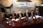 Drugi stopień na Wiśle - podpsianie porozumienia ws. złożenia wniosku o decyzję środowiskową.JPG