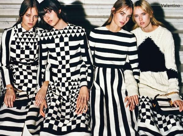 Czarno na białym – trend w modzie i wnętrzarstwie 2015