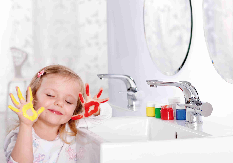 Nauka samodzielności w łazience