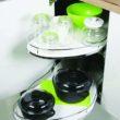 Wykorzystaj przestrzeń kuchennych szafek narożnych