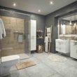 Łazienka zgodna z duńską sztuką szczęścia