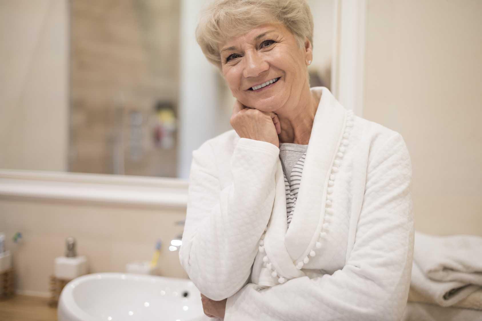 Łazienka na Dzień Babci