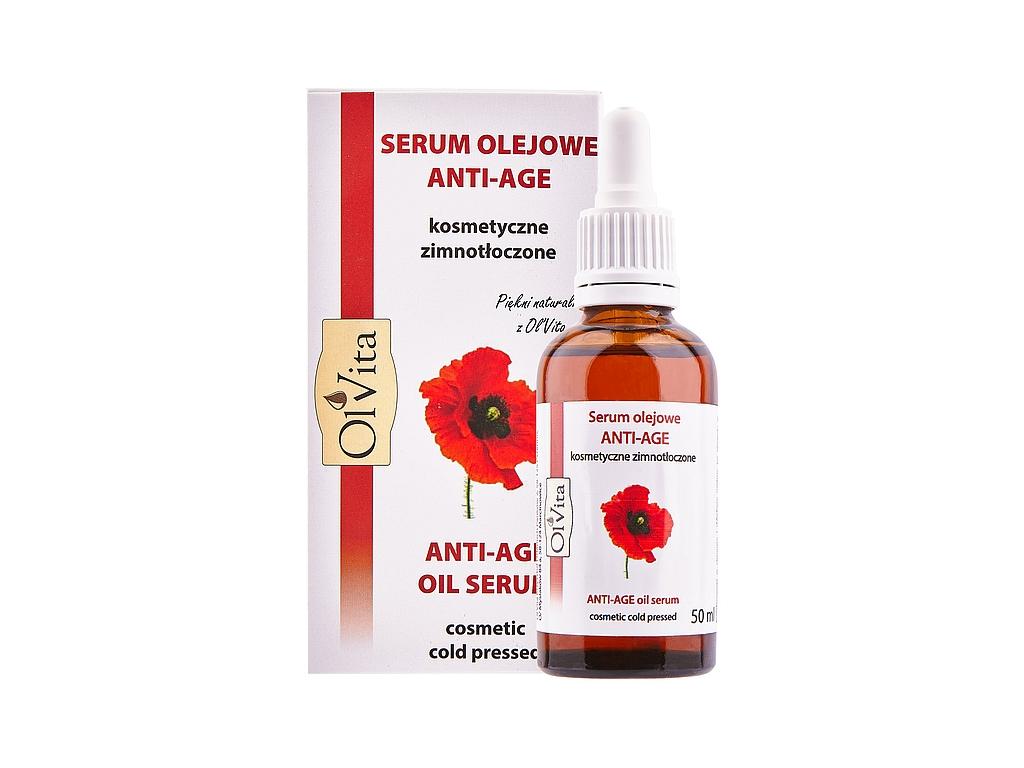 Kosmetyczne Serum olejowe Anti-Age zimnotłoczone